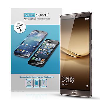 Yousave Huawei Mate 8 Ochraniacze ekranu - 5 szt