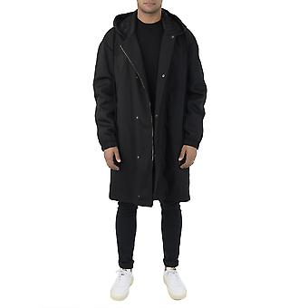 Stella McCartney men's 483309SJN121000 black nylon coat