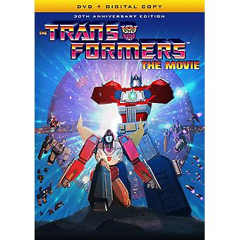 Transformers: The Movie (30th Anniversary Edition) [DVD] USA import