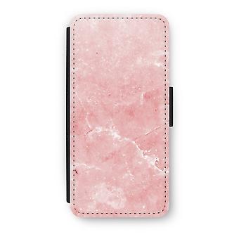 iPhone 5c Flip Case - Pink Marble