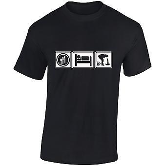 Eten slapen dronken Mens T-Shirt 10 kleuren (S-3XL) door swagwear