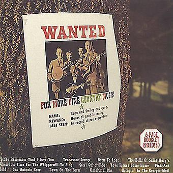 Reno & Smiley - Wanted [CD] USA import