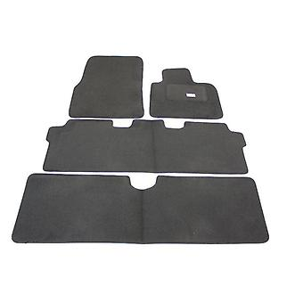 Fully Tailored Car Floor Mats - Renault ESPACE mk4 2002-2007 Black