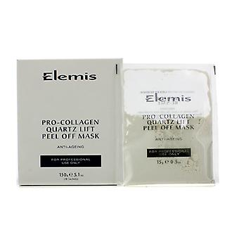 Elemis pro-Kollagen-Quarz Lift Peel Off Maske (Salon Produkt) 10x15g/0,5 oz
