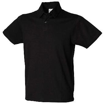 Skinnifit Mens Modern Essential Stretch Short Sleeve Polo Shirts