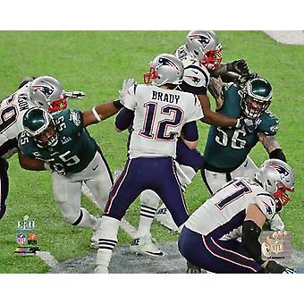 Brandon Graham Streifen Sack Super Bowl LII Photo Print