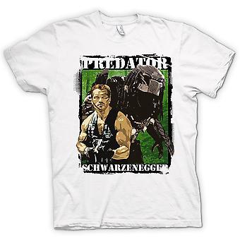 Womens T-shirt - Predator Alien - Schwarzenegger