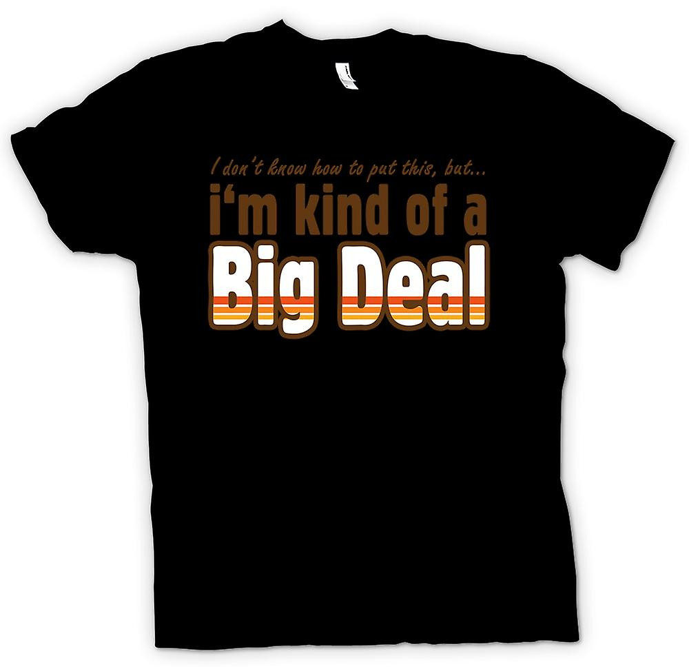 Herr T-shirt - Im slags en Big Deal - Funny