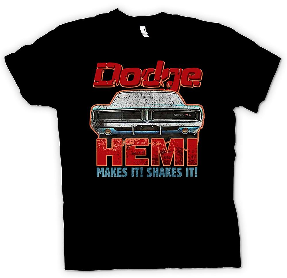 Womens T-shirt - Dodge HEMI Makes It Shake