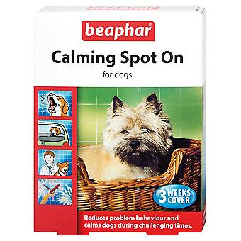 BEAPHAR CALMING SPOT ON FOR DOGS 3 WEEKS COVER REDUCES BEHAVIOUR PROBLEM