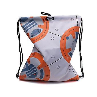 Star Wars The Last Jedi Bb-8 Gymbag White Casual Daypack 28 cm 20L Multicolour