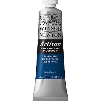 Winsor & Newton Artisan vatten blandbart olja färg 37ml (538 berlinerblått S1)