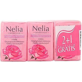 Nelia Moisturizing Soap 2 + 1 125 g