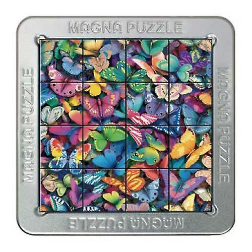 3D Magna Butterflies Magnetic Jigsaw Puzzle (16 Pieces)