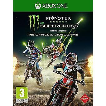 وحش الطاقة سوبركروس--اللعبة الرسمية ألعاب الفيديو Xbox واحد