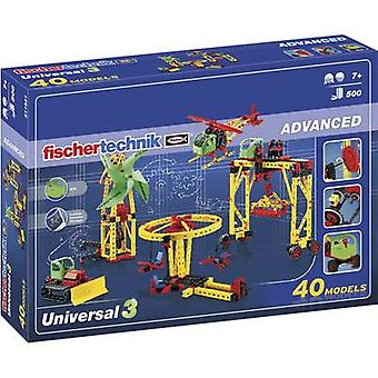 Science kit fischertechnik Universal 3 511931 7 years and over