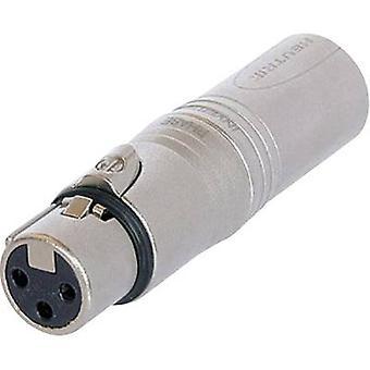 XLR adapter XLR socket - XLR plug NeutrikNA3FM1 pc(s)