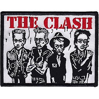 The Clash Caricature Iron-On / Sew-On Embroidered Patch