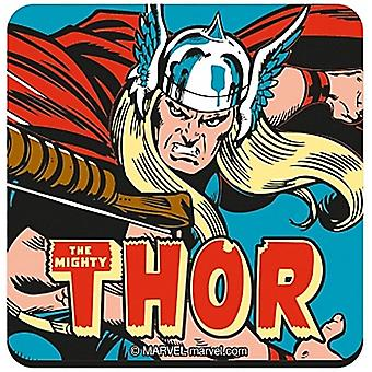 The Mighty Thor Cork Backed Drinks Mat/Coaster