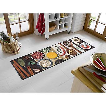 wassen + droge keuken tapijt hete specerijen wasbaar tapijt