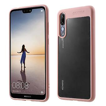 Ultra slim case for Huawei P20 Pro mobile case protection cover rose