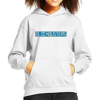 Retro Blockbusters Logo Kid's Hooded Sweatshirt