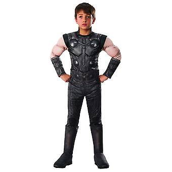 Infinito de Thor MARVEL fue superhéroe de lujo disfraces niños carnaval Deidad
