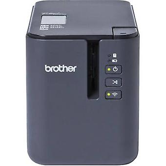Brother P-touch P900W Label printer Suitable for scrolls: TZe, HSe, HGe, STe , FLe 3.5 mm, 6 mm, 9 mm, 12 mm, 18 mm, 24