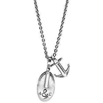 Anchor and Crew London Pulley Pendant - Silver