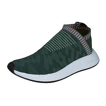 adidas NMD_CS2 PK Primeknit Womens Trainers / Shoes - Green