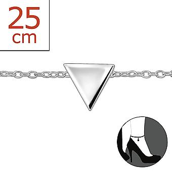Triangle - 925 Sterling Silver Anklets - W30318X