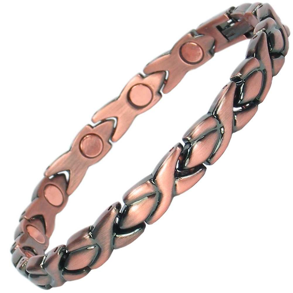 MPS® ADYA Copper Rich Magnetic Therapy Bracelet + Free Links Removal Tool