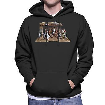 Original Stormtrooper Christmas Stormtivity Men's Hooded Sweatshirt