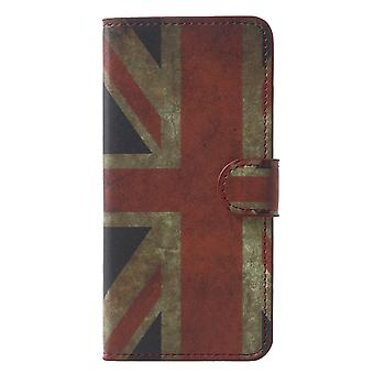 Samsung Galaxy S9 G960 Plånboksfodral - Vintage UK Flag