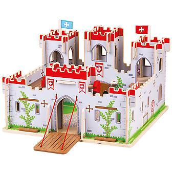 Bigjigs Toys King George's Castle - Medieval Castle Playset