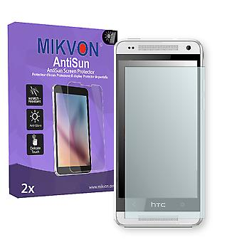 HTC M4 Screen Protector - Mikvon AntiSun (Retail Package with accessories)