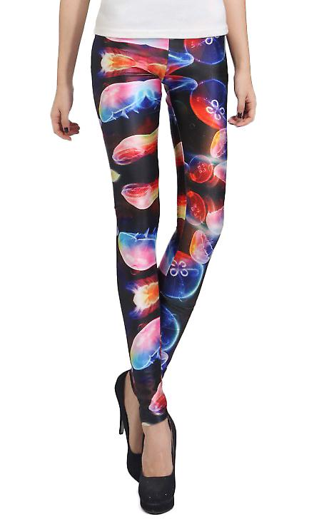 Waooh - Fashion - Legging jellyfish pattern