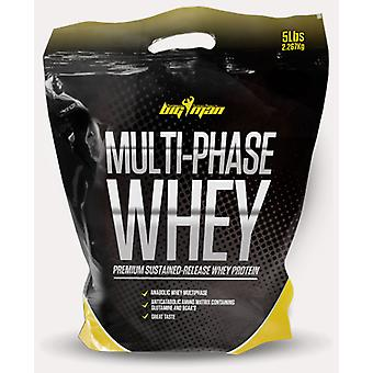 Big Man Nutrition Multi-Phase Whey 2 Kg (Sport , Muscle mass , Proteins)