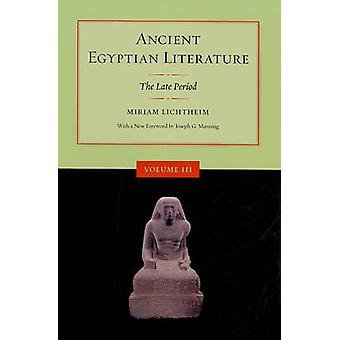 Ancient Egyptian Literature - v. 3 - Late Period (2nd Revised edition)