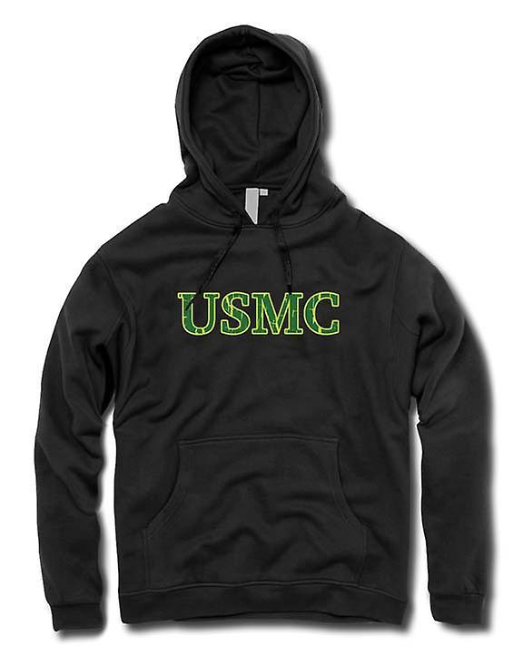 Mens Hoodie - USMC - militära - Slogan