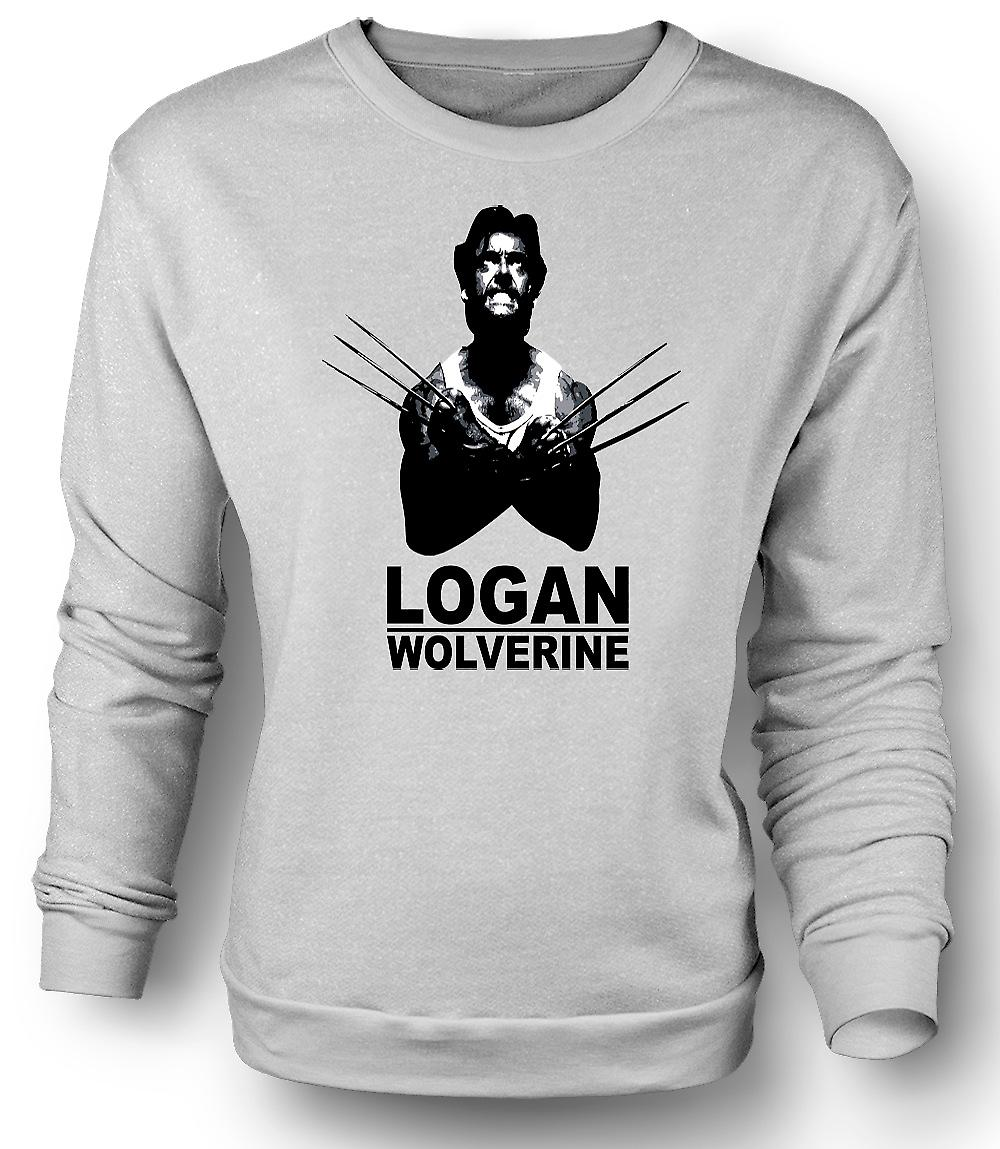 Felpa Mens Logan Wolverine - X - Men - Comic