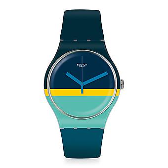 Swatch Ment'Heure 41mm Case Mens Watch SUOW154