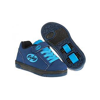Heelys Navy-New Blue Double Up Kids deux roues chaussure