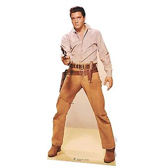 Elvis Gunfighter Lifesize Cardboard Cutout / Standee