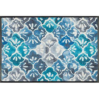 wash+dry Fußmatte Blue Ground waschbare Schmutzmatte