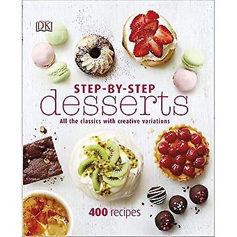 Stegvisa desserter (Dk)