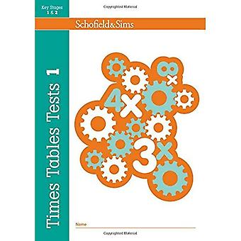 Times Tables Tests: Bk. 1