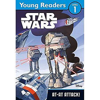 Star Wars: AT-AT Attack: Star Wars Young Readers (Star Wars Young Readers Levl 1)