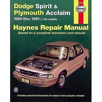 Dodge anda och Plymouth Acclaim, 1989-1995