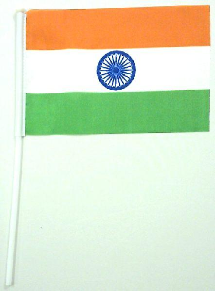 India Hand Held Flag
